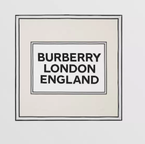 SS20 Burberry