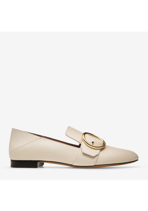 Maelle Pink, Womens calf leather slipper in blush Bally