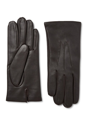 Bath Cashmere-lined Leather Gloves
