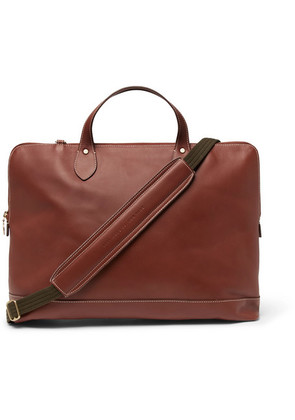 Best Made Company - The Service Brief Leather Briefcase - Tan