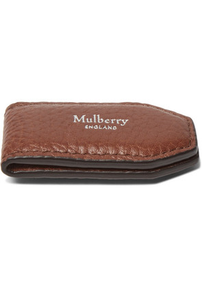 Mulberry - Full-grain Leather Money Clip - Tan
