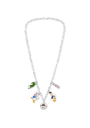 Enamelled Sterling Silver Necklace