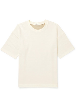 + G.f.g.s. Panelled Cotton And Yak-blend T-shirt