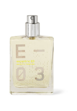 Escentric 03 - Vetiver, Mexican Lime And Ginger, 30ml
