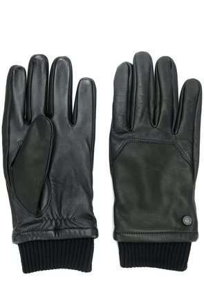Canada Goose ribbed cuff gloves - Black