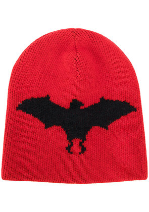 Gucci Bat intarsia hat - Red