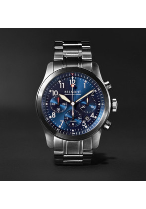 Bremont - Alt1-p2 Bl/br Automatic Chronograph 43mm Stainless Steel Watch - Blue