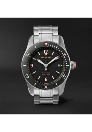 Bremont - Supermarine Type 300 40mm Stainless Steel Watch - Black