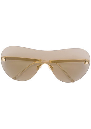 Boucheron oversized sunglasses - Metallic