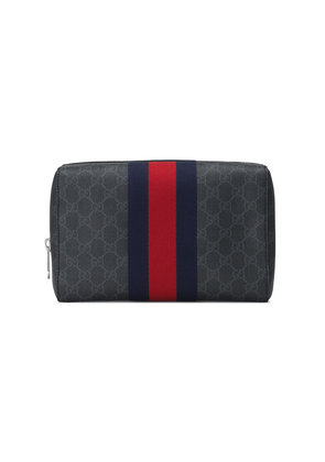 Gucci GG Supreme toiletry case - Black