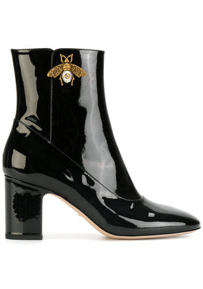 Gucci bee ankle boots - Black