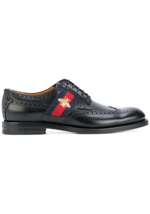 Gucci bee web-trimmed Brogues - Unavailable
