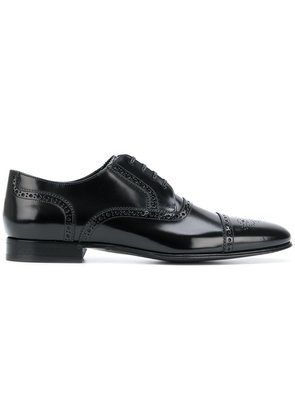Lace Up Shoes for Men Oxfords, Derbies and Brogues On Sale, Black, Brushed Leather, 2017, 5.5 6.5 6.75 7 7.5 8 8.5 9 9.5 Dolce & Gabbana