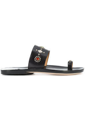 Calleen Cordero embellished sandals - Black