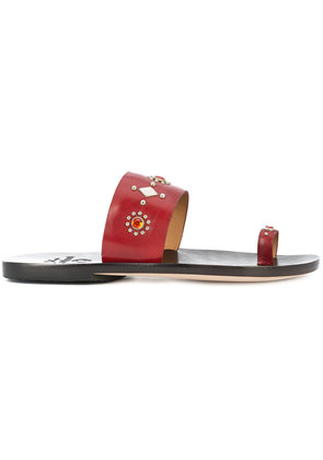 Calleen Cordero embellished sandals - Red