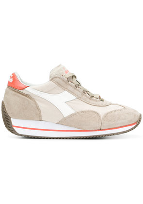Diadora chunky sole lace-up sneakers - Neutrals