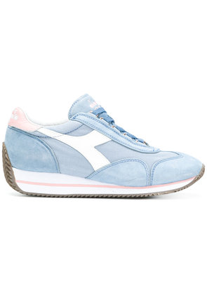 Diadora chunky sole lace-up sneakers - Blue