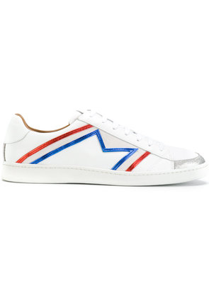 Marc Jacobs trim detail sneakers - White