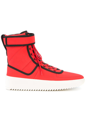 Fear Of God hi-top sneakers - Red