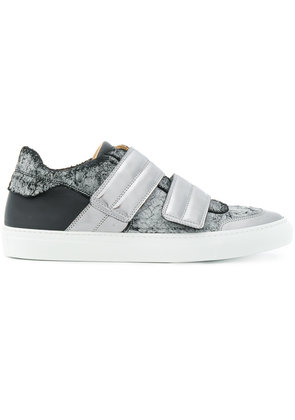 Mm6 Maison Margiela metallic touch strap sneakers - Grey