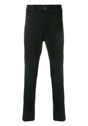 10Sei0otto dropped crotch jeans - Black
