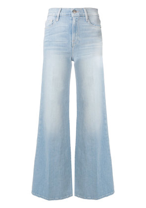 Frame Denim stonewash flared jeans - Blue