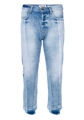 Essentiel Antwerp cropped fitted jeans - Blue