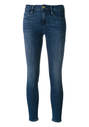 Frame Denim skinny cropped jeans - Blue