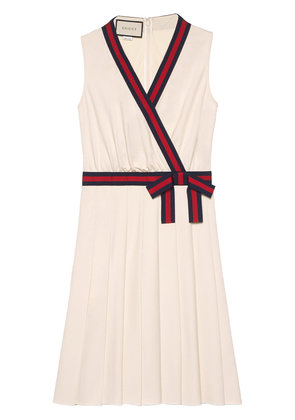 Gucci Jersey dress with Web - Nude & Neutrals