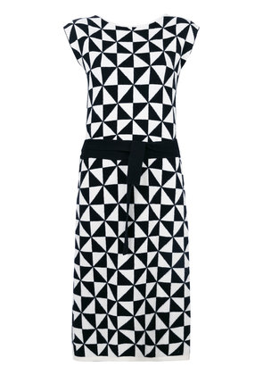 Cashmere In Love cashmere Celia knitted wrap dress - Black