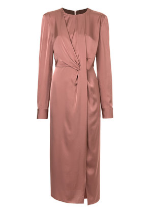 Bianca Spender Poetry dress - Pink & Purple