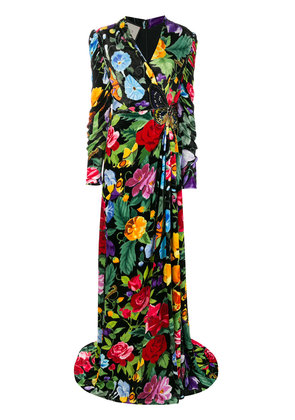 Gucci Floral evening gown - Multicolour