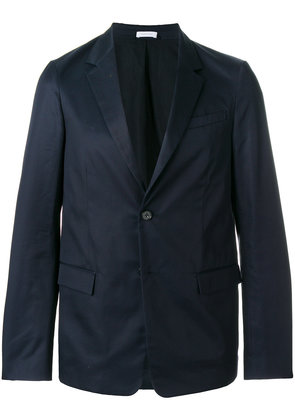 Jil Sander flap pocket blazer - Blue