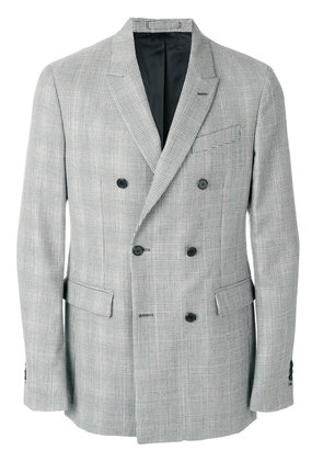 Calvin Klein double-breasted fitted blazer - Black