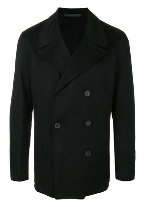 Theory double-faced cashmere peacoat - Black
