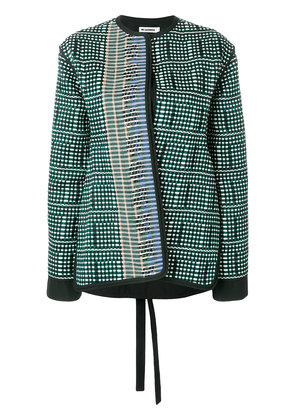 Jil Sander bouclé-tweed jacket - Black