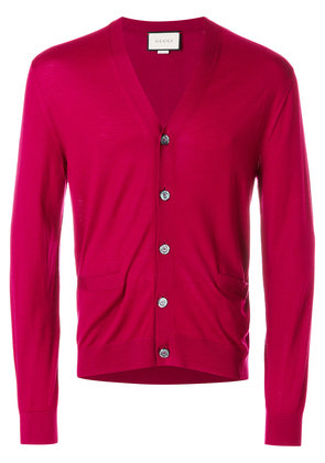 Gucci v-neck cardigan - Pink & Purple