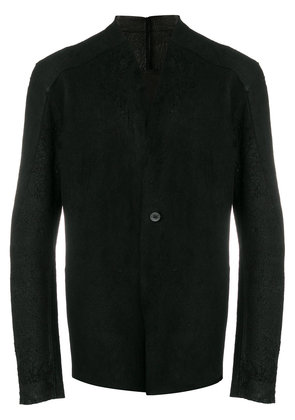 10Sei0otto collarless jacket - Black