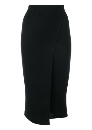 Cashmere In Love cashmere Capri knit skirt - Black