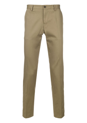 Dolce & Gabbana classic style chino trousers - Nude & Neutrals