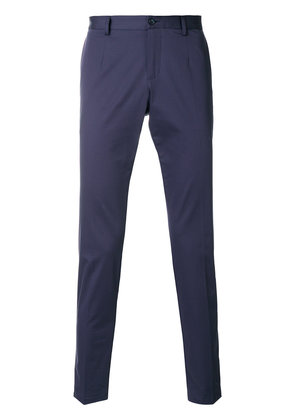 Dolce & Gabbana piped chinos - Blue