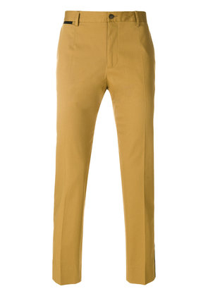 Dolce & Gabbana piped chinos - Brown