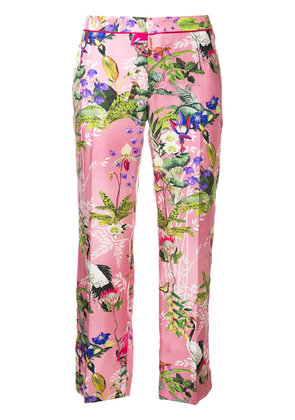 F.R.S For Restless Sleepers floral print cropped pyjama bottoms - Pink