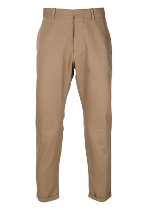 Marni cropped chino trousers - Brown