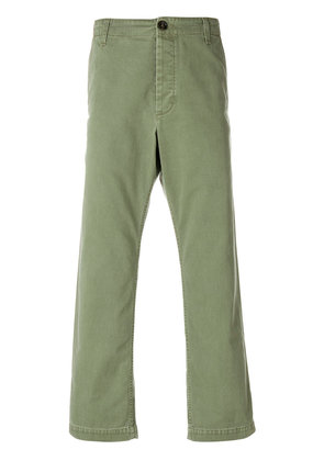 Gucci cropped chino trousers - Green
