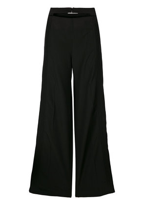 Valentino double waistband pleated trousers - Black