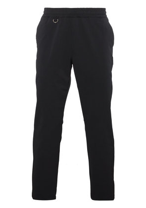 Uniform Experiment Black tapered cropped trousers