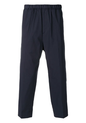 Jil Sander cropped trousers - Blue