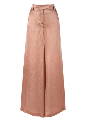 Valentino textured wide leg trousers - Nude & Neutrals