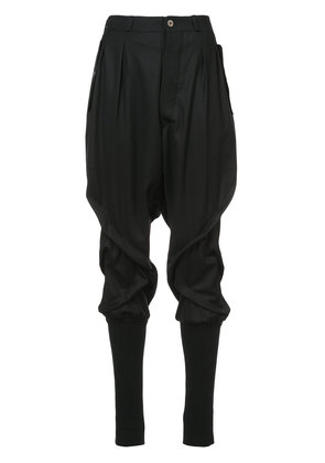 Aganovich Twisted pants - Black